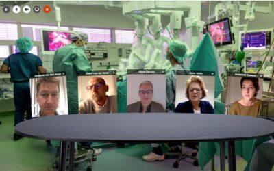 Interviewen in een operatiekamer